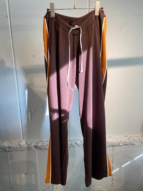 MAISON EUREKA stripe easy knit pants