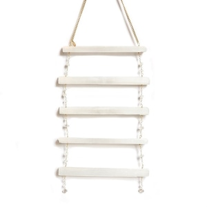 Ariana Ost Selenite Ladder Crystal Wall Décor セレナイト ウォールデコ ウォールハンギング