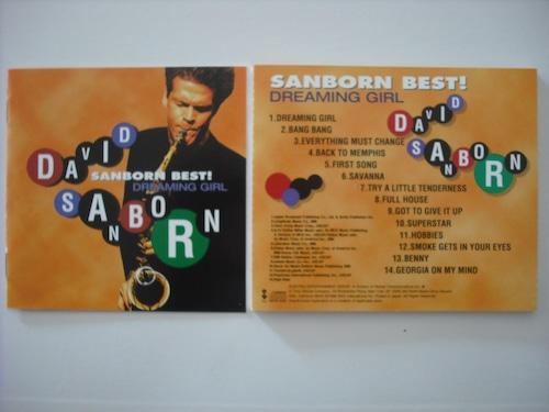 【CD】DAVID SANBORN / BEST