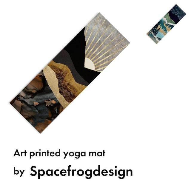 アートプリント ヨガマット -by spacefrogdesigns【受注生産品: 11月中旬頃入荷分 オーダー受付中】