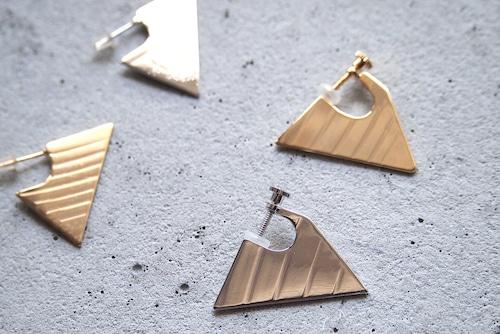 Triangle cymbal earrings【イヤリング】