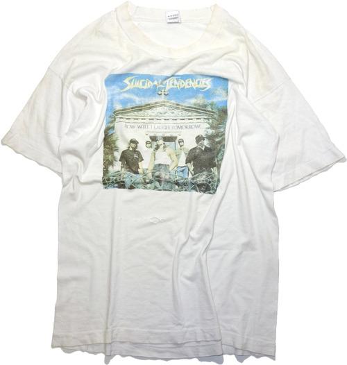 80年代 90年代 スイサイダル・テンデンシーズ バンド Tシャツ 【L】 | アメリカ ヴィンテージ 古着