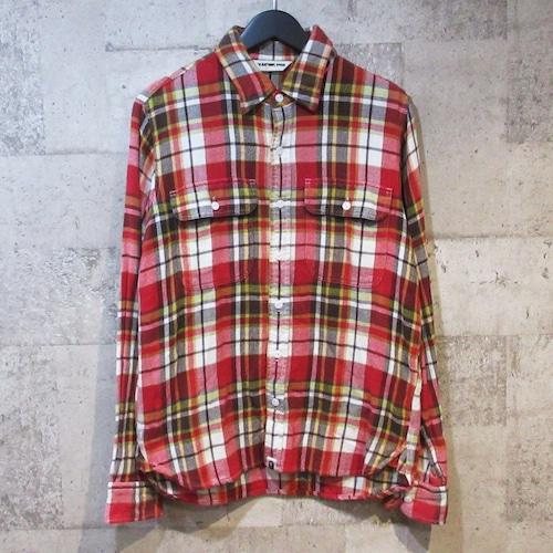 A BATHING APE フランネルチェックシャツ