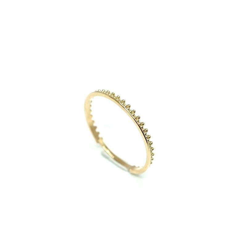 Granulation narrow ring