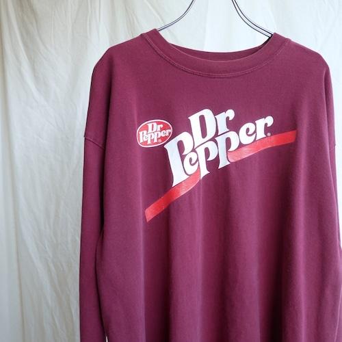 【USED】Dr.Pepper プリント ロンT