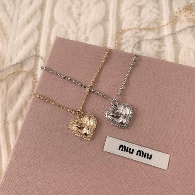 【RE】petit heart necklace