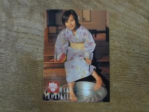 堀北真希 BOX特典カード No.BOX04 2007 BOMB