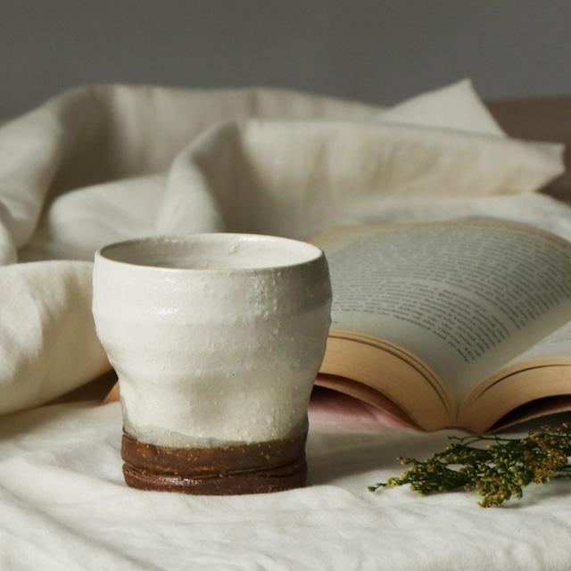 陶器 でこぼこカップ【MM-0017】