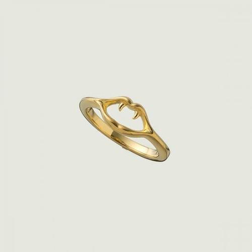 Fang Small Ring Gold