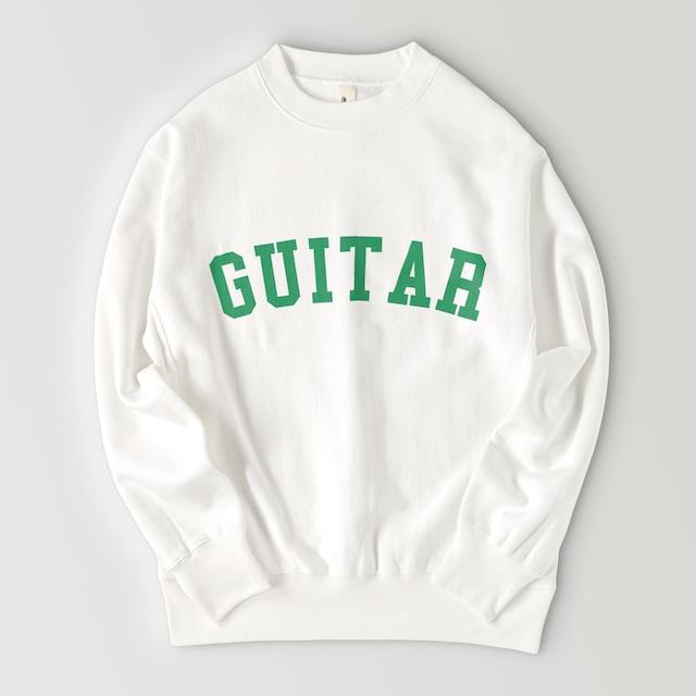 GUITAR BIG LOGO SWEAT (WHITE)