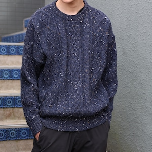 USA VINTAGE CABLE KNIT/アメリカ古着ケーブル編みアランニット