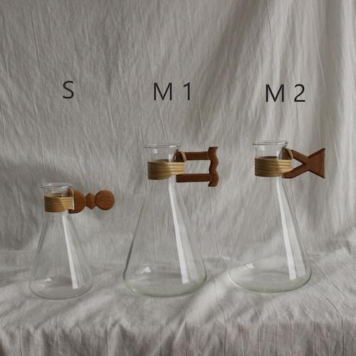 フラワーベース〔三角型〕M (2types)