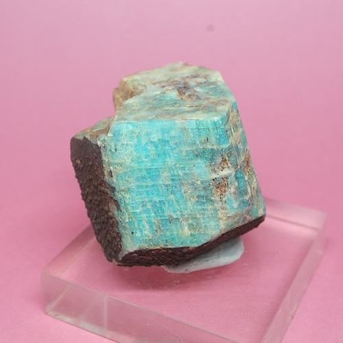 コロラド産 アマゾナイト 原石  38,3g AZ0069 天河石(てんがせき) 鉱物 天然石