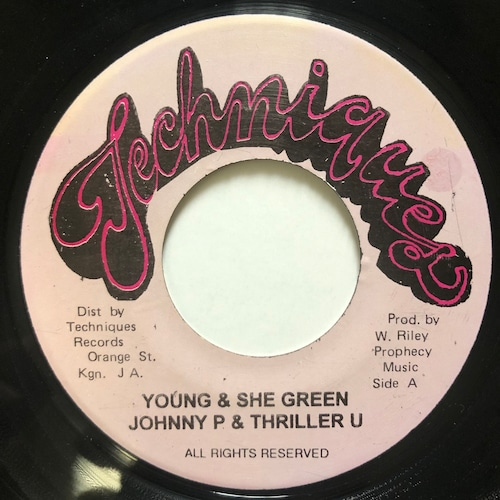 Johnny P, Thriller U - Young & She Green【7-20699】