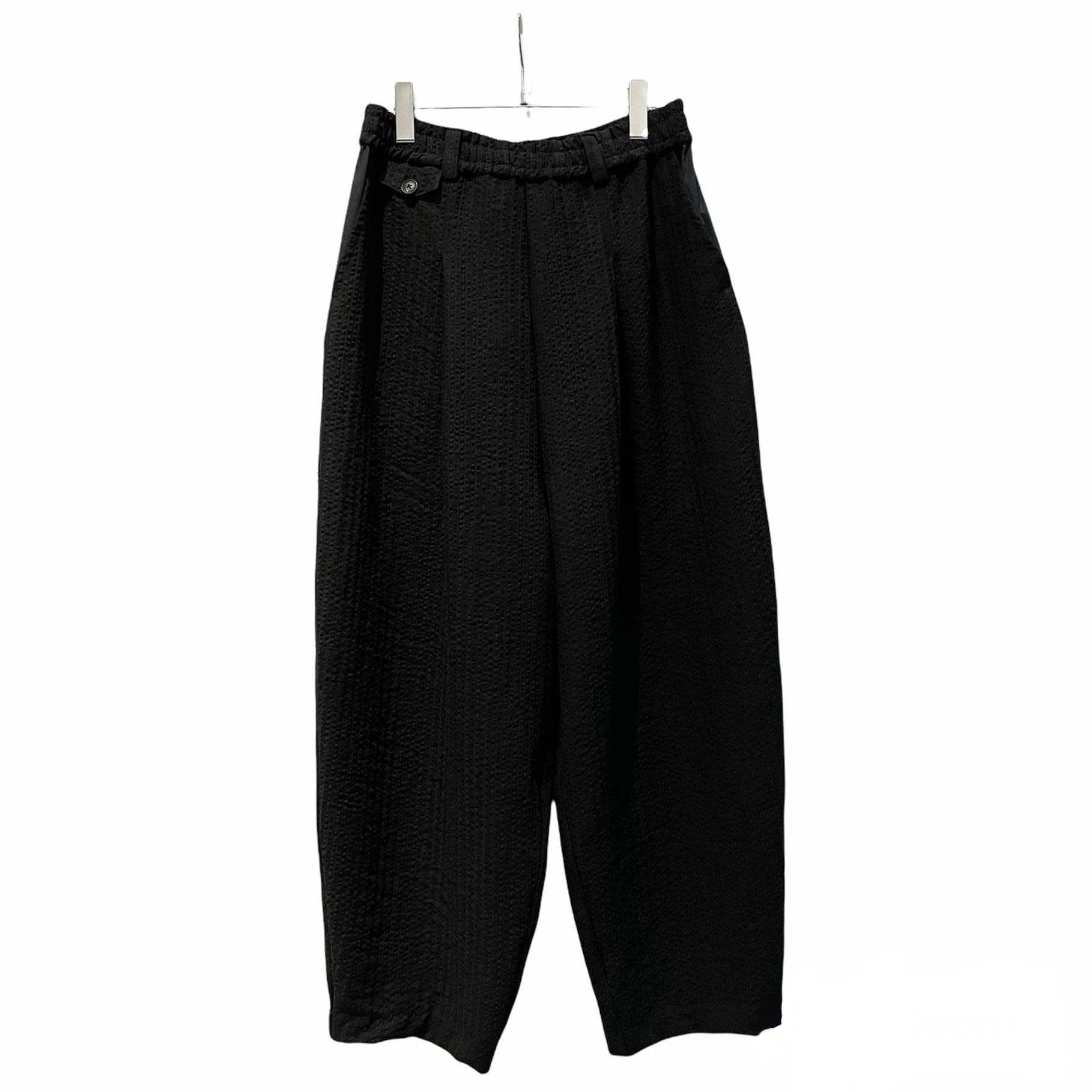 Tapered-Pants  (black/linen)