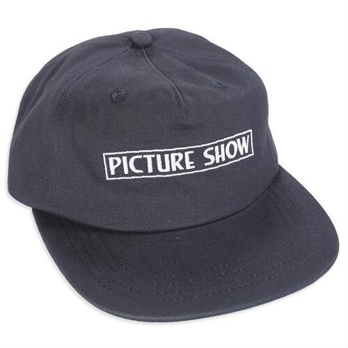 PICTURE SHOW /  VHS STRAPBACK HAT / navy / ネイビー / キャップ