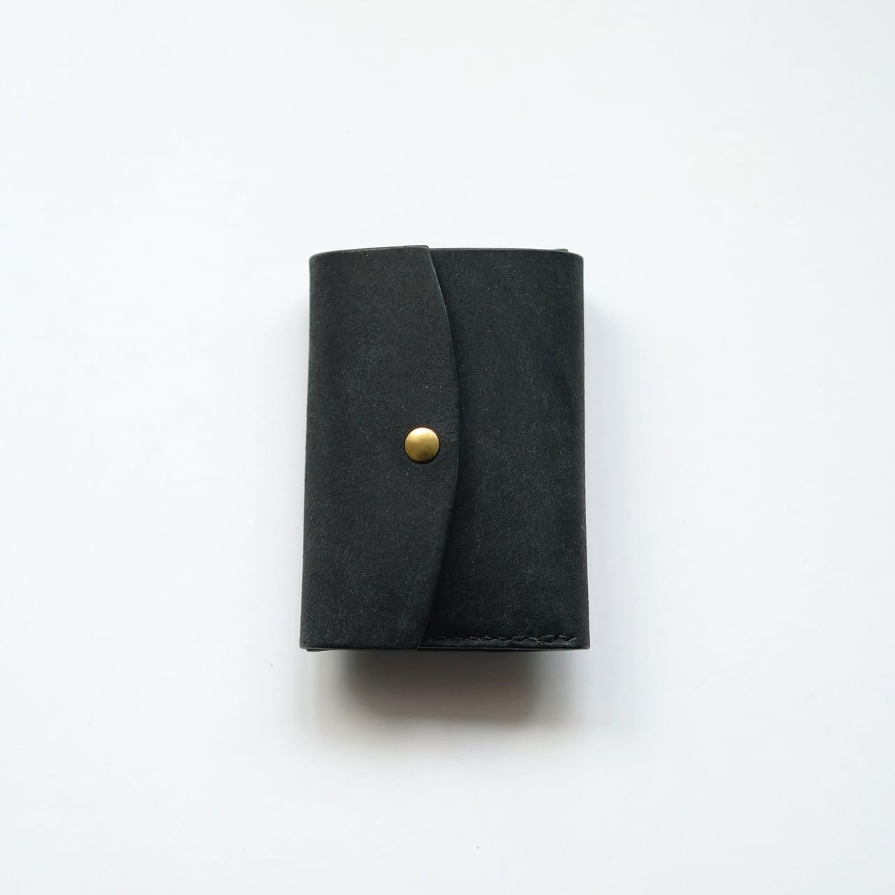 tri-fold wallet - bk - プエブロ