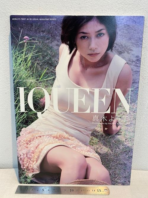 IQUEEN VOL.2  真木よう子写真集 藤代冥砂撮影