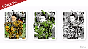 [10% OFF 3-piece set] Collaborative Sticker by Hiroshi Matsuyama (CyberConnect2) and jbstyle.