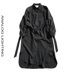 Coat Dress/BLACK