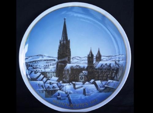 Rosenthalローゼンタール イヤープレート 飾り皿 weihnachten クリスマス