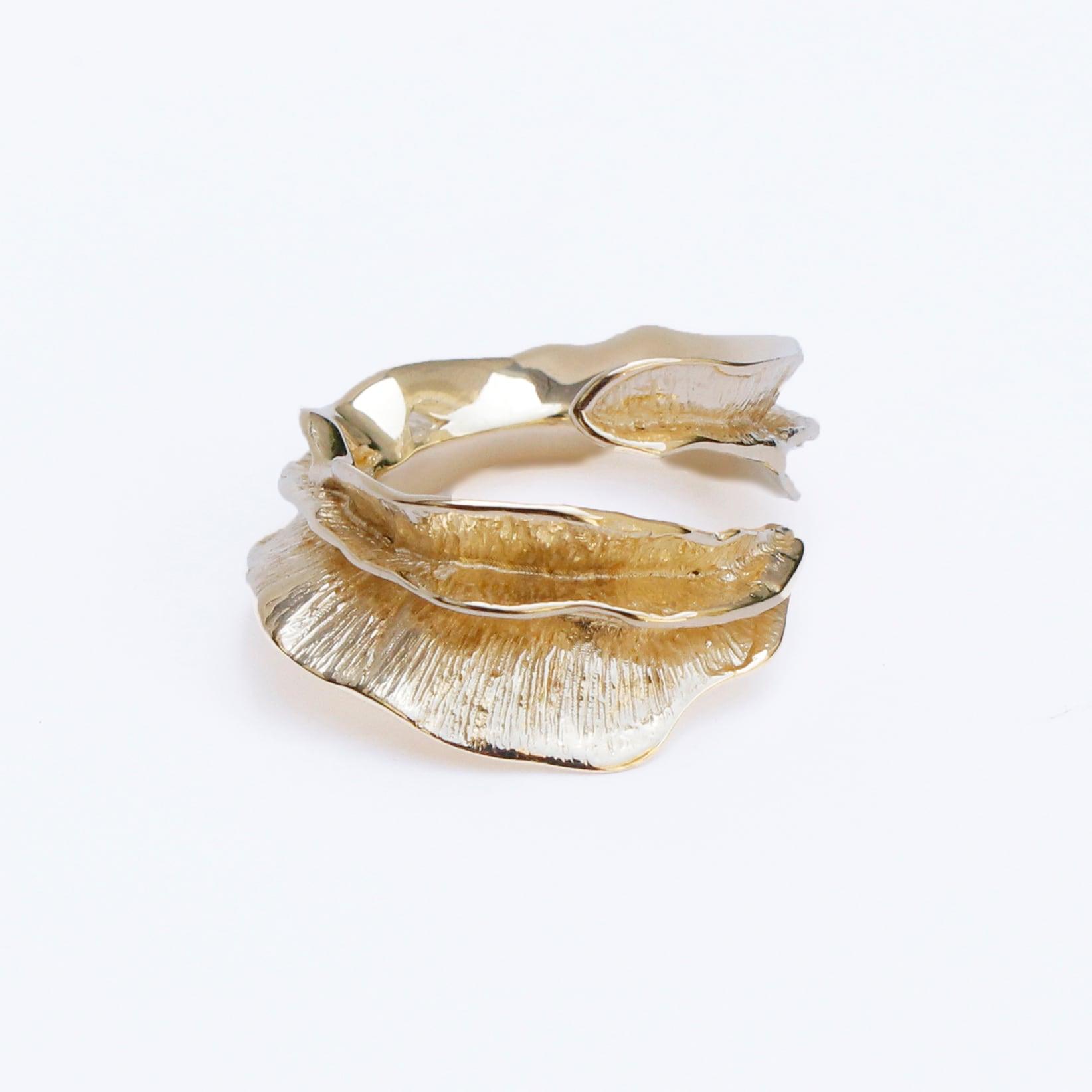 conoa (コノア) こおりのフレアの指飾り(大) gold