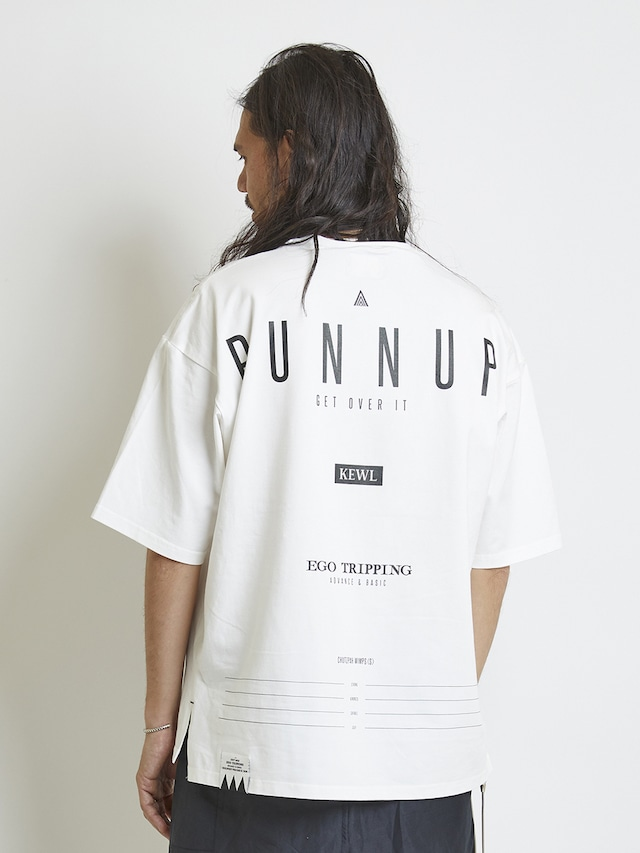 EGO TRIPPING (エゴトリッピング) RUNNUP TEE / WHITE 663856-00