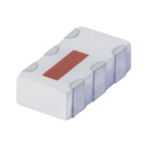 QCN-12AD+, Mini-Circuits(ミニサーキット)    LTCC Power Splitter (スプリッタ・コンバイナ), 800 - 1250 MHz, 分配数: 2 Way-90°