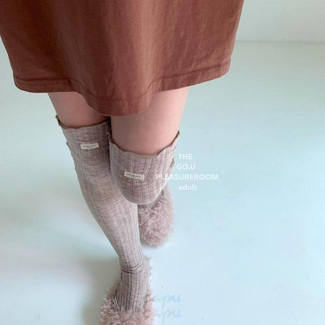 «即納»«ママサイズあり» GO.U long socks ロングソックス