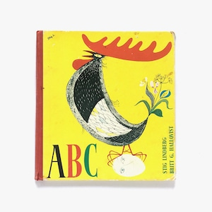 スティーグ・リンドベリ:絵「ABC(ABCの本)」《1983-01》