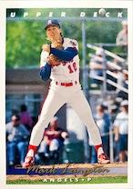 MLBカード 93UPPERDECK Mark Langston #128 ANGELS