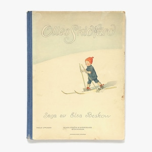 エルサ・ベスコフ「Olles skidfärd(ウッレのスキーのたび)」《第3版-01》