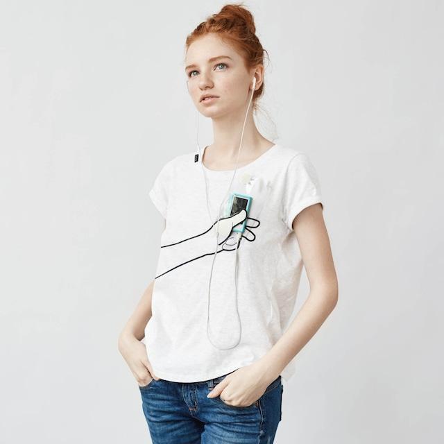 hand Tシャツ(ホワイト)