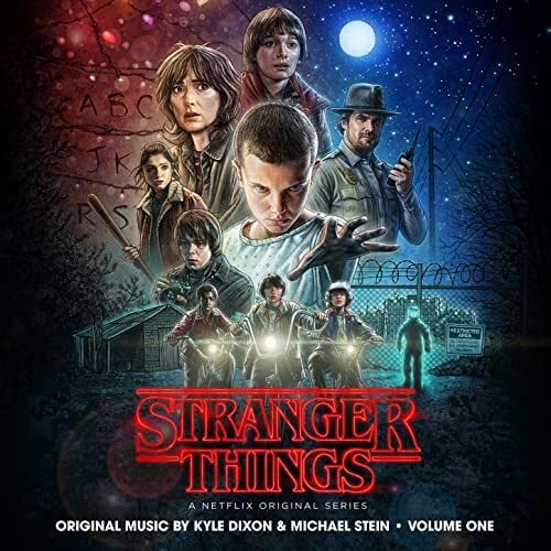 KYLE DIXON & MICHAEL STEIN - STRANGER THINGS SEASON 1 VOLUME 1  (LTD. Upside Down Inter-Dimensional Blue 2LP)