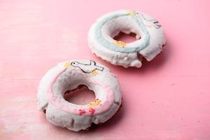 出産内祝に♡お名前ドーナツ入りドーナツ10個ギフトセット