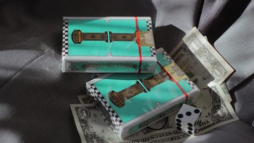 Gemini Casino Turquoise by Gemini