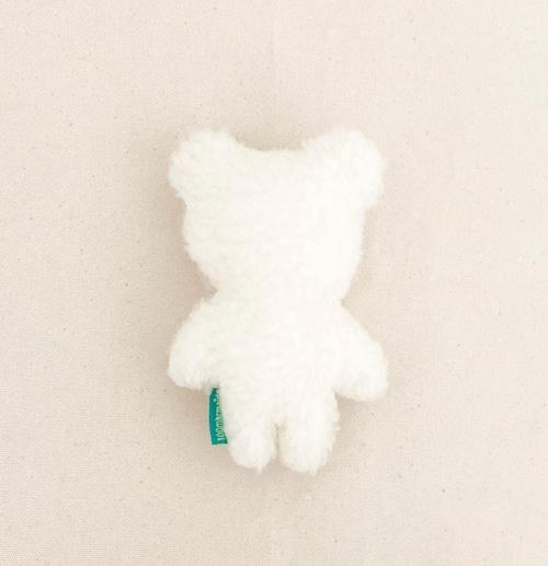 ぬいぐるみ_もふもふクマ(white)