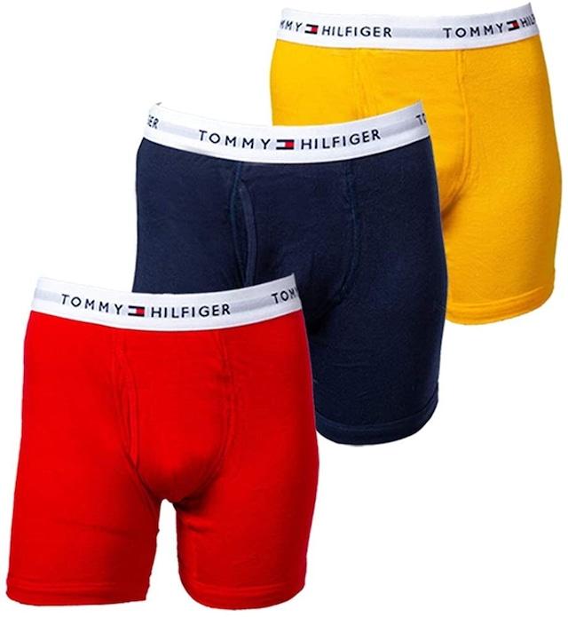 (TOMMY HILFIGER) トミーフィルフィガー ボクサーパンツ 3枚組