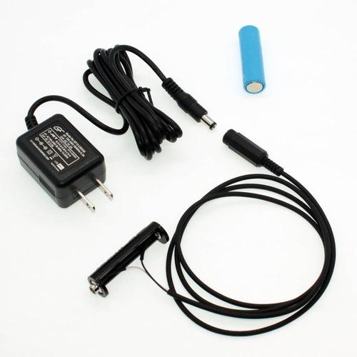 単3電池×2本用 ACアダプター接続ケーブル 1mセット品 [AABAT-2-R1M-SET]