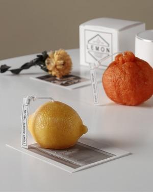 citrus candle