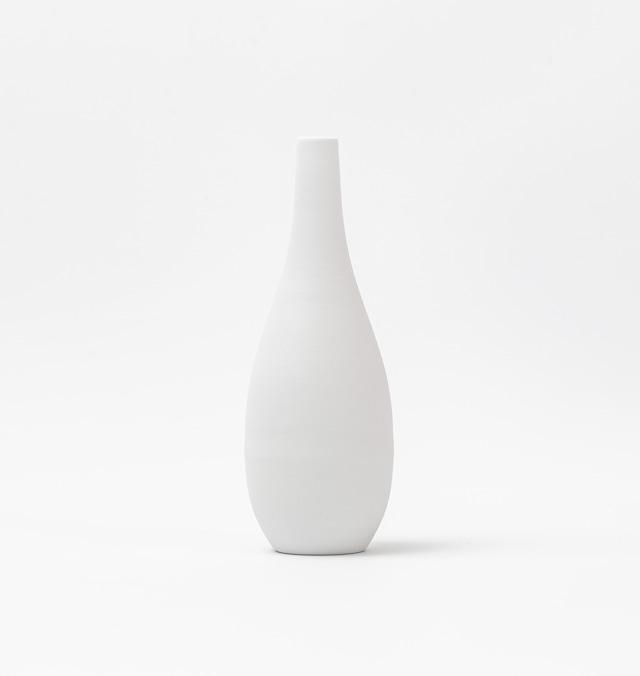 【 白の陶器 】ちいさな一輪挿し