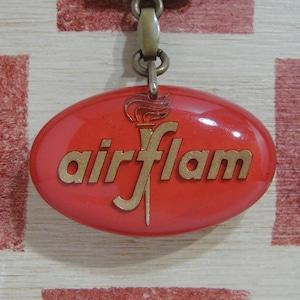 フランス air flam[エール フラム]ストーブメーカー広告ノベルティ ブルボンキーホルダー