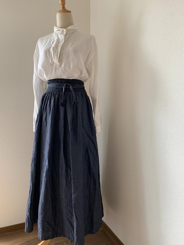 ギャザーラップスカート
