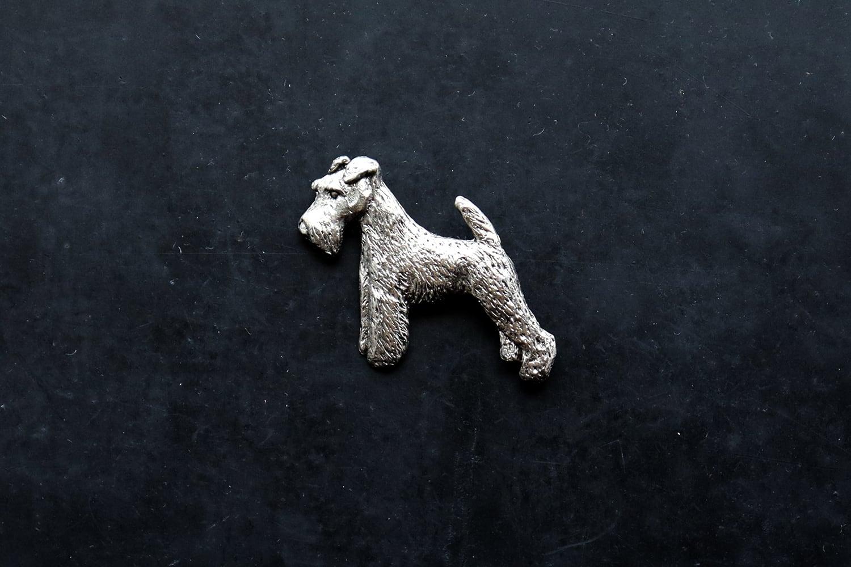 【イギリス】犬のブローチ(シュナウザー/ALDEN ARTS ENGLAND)