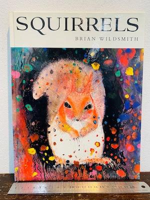 70's 初版 洋書  SOUIRRELS   BRIAN WILDSMITH