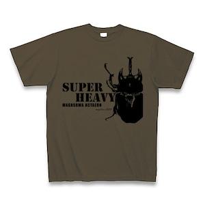 アクティオンゾウカブト Tシャツ -maylime- オリジナルデザイン オリーブ