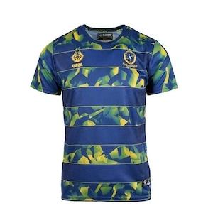 【QAQA】RATU KADAVULEVU SHCOOL Training T-shirt Stripe