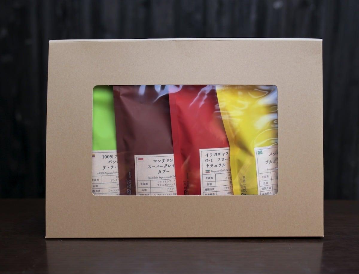 【オススメ】厳選4品種 飲み比べセット (100g×4種)