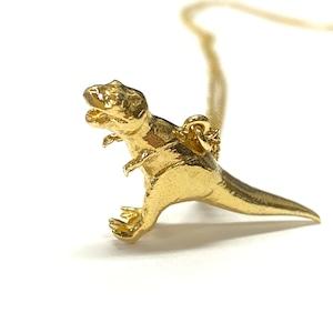 ✨アレックスモンロー✨925スターリングシルバー 22ctゴールドコーティング(店頭未使用品)ティラノサウスT-Rexのネックレス