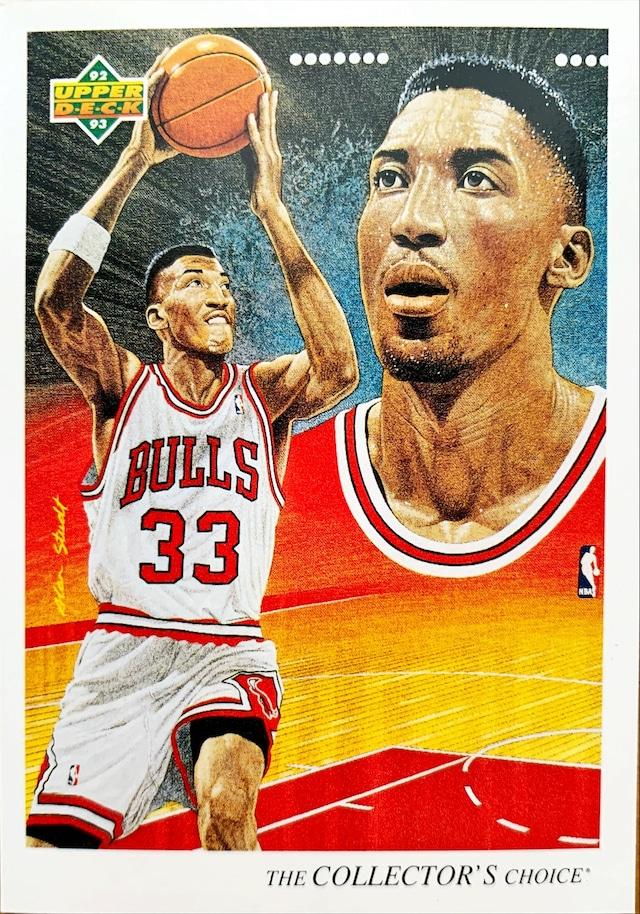 NBAカード 92-93UPPERDECK Scottie Pippen #37 BULLS